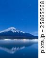 山梨_山中湖富士山夜景 25865568