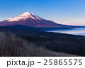 山梨_山中湖パノラマ台からの富士山朝焼け 25865575