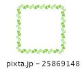 シロツメクサのフレーム() 25869148