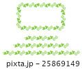 シロツメクサのフレーム() 25869149