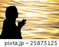 インド、ガンジス川の沐浴 25875125