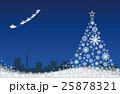 クリスマス クリスマスツリー ツリーのイラスト 25878321