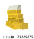 BOX ボックス 箱のイラスト 25889875