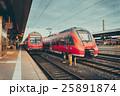電車 列車 線路の写真 25891874