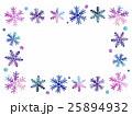 雪の結晶 雪 結晶のイラスト 25894932