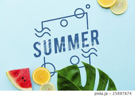 Summer Vacation Fun Conceptの写真素材 [25897874] - PIXTA