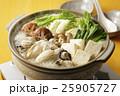 牡蠣 牡蠣鍋 鍋の写真 25905727