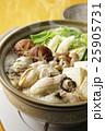 牡蠣 牡蠣鍋 鍋の写真 25905731