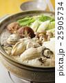 牡蠣 牡蠣鍋 鍋の写真 25905734