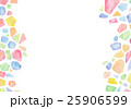 水彩 テクスチャー 幾何学 宝石 25906599