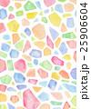 水彩 テクスチャー 幾何学 宝石 25906604