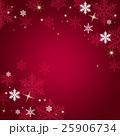 結晶 雪 冬のイラスト 25906734
