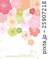 桜 年賀状 酉年のイラスト 25907218