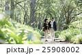 散策を楽しむ夫婦 25908002
