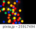 defocused colorful christmas lights 25917494