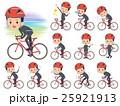 school boy gakuran on rode bicycle 25921913