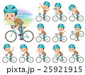 school boy Brown Blazer on rode bicycle 25921915