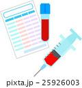 採血と血液検査 25926003