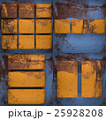 Rusted blue painted metal wall background set 25928208