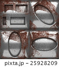 rusted metal texture background set 25928209