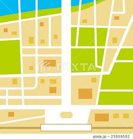 地図のイラスト素材 25939502 Pixta
