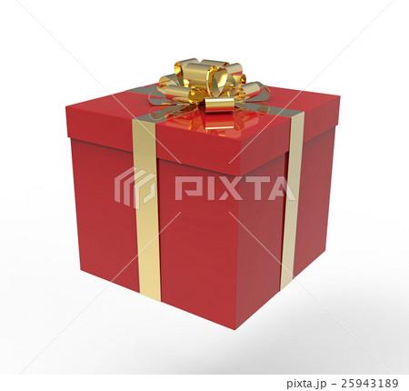 Gift box 3d rendering 25943189 pixta gift box 3d rendering negle Images