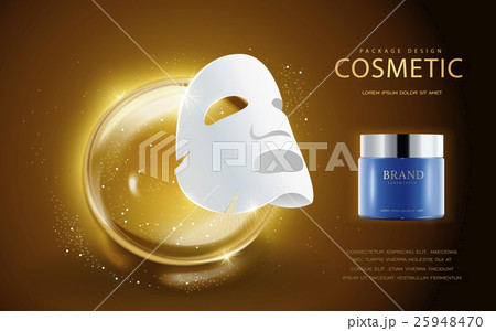 Cosmetic ads template 25948470