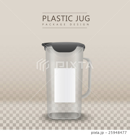 water container blank labelのイラスト素材 [25948477] - PIXTA