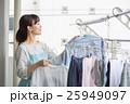 女性 主婦 洗濯の写真 25949097