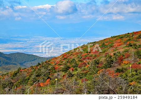 蔵王ロープウェイ地蔵山頂駅展望台からの眺め 25949184