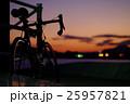 黄昏とクロモリ(太田川放水路にて) 25957821