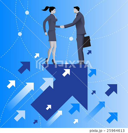Mutual benefit business concept 25964613