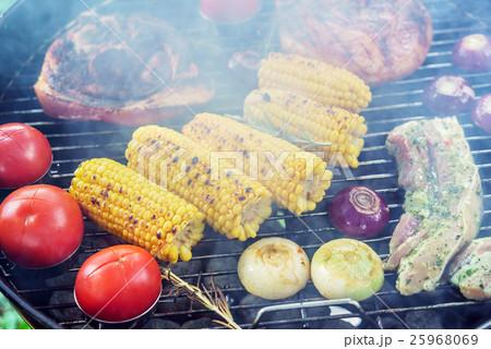 Barbecue grill concept 25968069