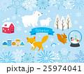 冬のイラスト Winter Illustrations 25974041
