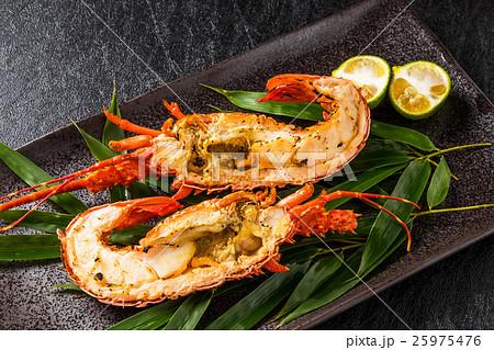 伊勢海老のグリル Grill of  Japanese high quality lobster 25975476