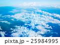 海 白雲 白い雲の写真 25984995