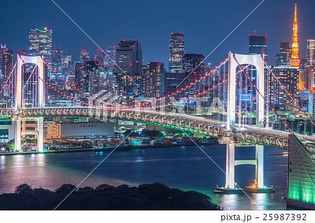 東京ウォーターフロント・夜景 25987392
