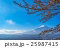 【山梨県】秋の富士山 25987415
