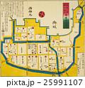 古地図「江戸切絵図」大名小路神田橋内・内桜田之図  25991107