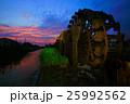 朝倉市三連水車 25992562