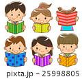 読書する子供 25998805