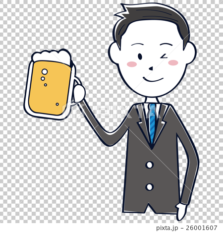 Cute refreshing businessman wire drawing short hair black hairstyle toast 26001607