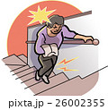 膝 痛み 高齢者のイラスト 26002355