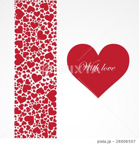 Valentine's day vector background.のイラスト素材 [26006507] - PIXTA