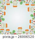 都市 フレーム 枠のイラスト 26006520