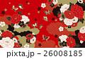 和柄 花 背景のイラスト 26008185