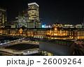 東京駅の夜景 26009264