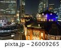 東京駅の夜景 26009265