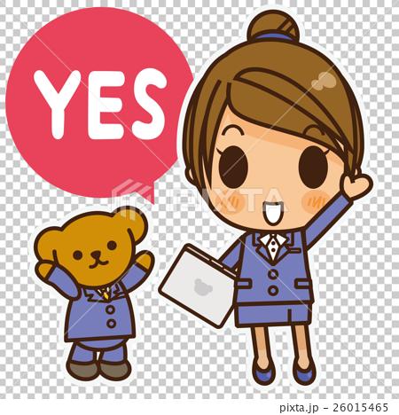 オンナノコ 制服スーツ(青) YES 26015465