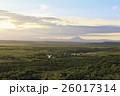 釧路 湿原 夕暮れの写真 26017314
